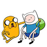 Набор стикеров «Adventure Time» для Телеграмм