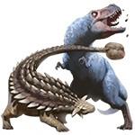 Набор стикеров «Динозавры» для Telegram