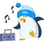 Коллекция стикеров «Пингвин» для Telegram